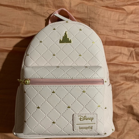 04991a942c LOUNGEFLY DISNEY DAYS CASTLE MINI BACKPACK